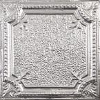 Pattern #28 in Unfinished 2 ft. x 2 ft. Nail Up Tin Ceiling Tile (20 sq. ft./Case)