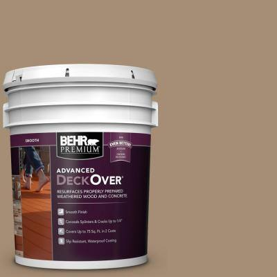 5 gal. #SC-121 Sandal Smooth Solid Color Exterior Wood and Concrete Coating