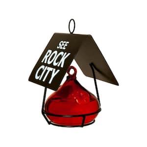 See Rock City Hummingbird Feeder