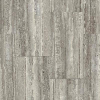 Vista 12 in. W x 24 in. L Thatch Click Lock Vinyl Tile Flooring (15.83 sq.ft./case)