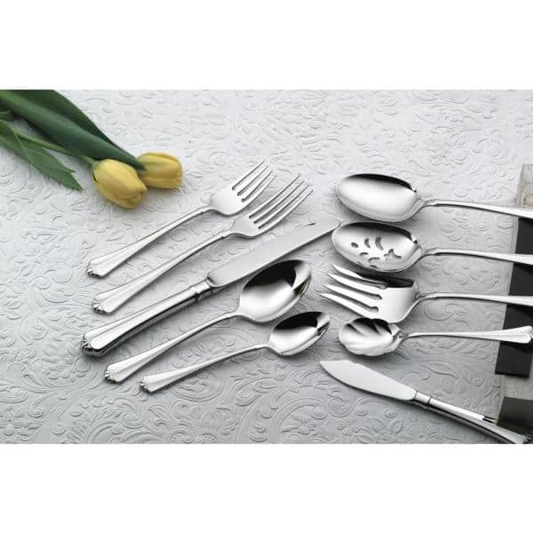Oneida Juilliard 18 10 Stainless Steel Table Forks European Size Set Of 36 2273fdlf The Home Depot