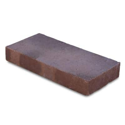 Traveler 11.5 in. x 5.5 in. x 1.63 in. Brown Clay Flash Paver