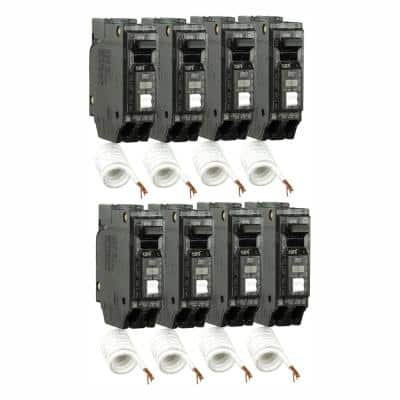 Q-Line 20 Amp Single-Pole Arc Fault Combination Circuit Breaker (8-Pack)
