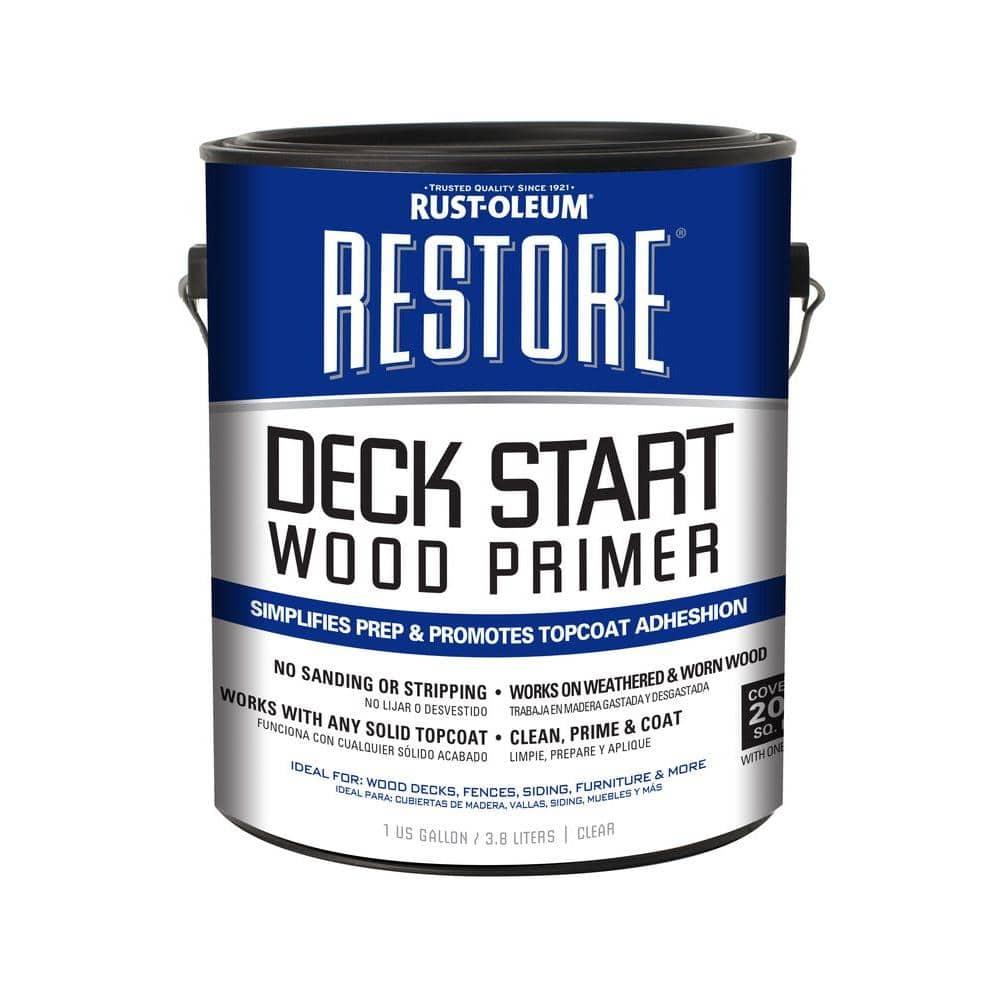 Rust-Oleum Restore 1 gal. Deck Start Wood Primer