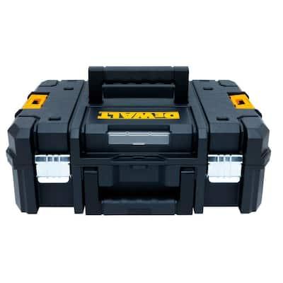 TSTAK II 13 in. Stackable Flat Top Tool Storage Case