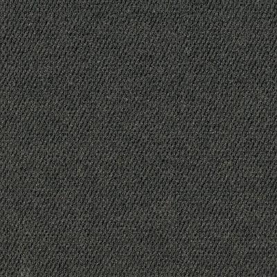 Peel and Stick Caserta Black Ice Hobnail 18 in. x 18 in. Residential Carpet Tile (10 Tiles/Case)