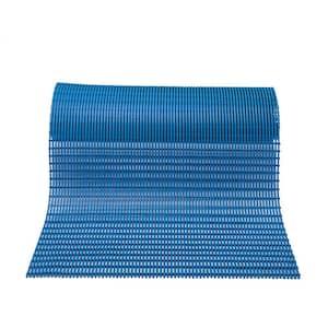 Barepath Light Blue 2 ft.x 30 ft.PVC Safety and Comfort Rug Runner