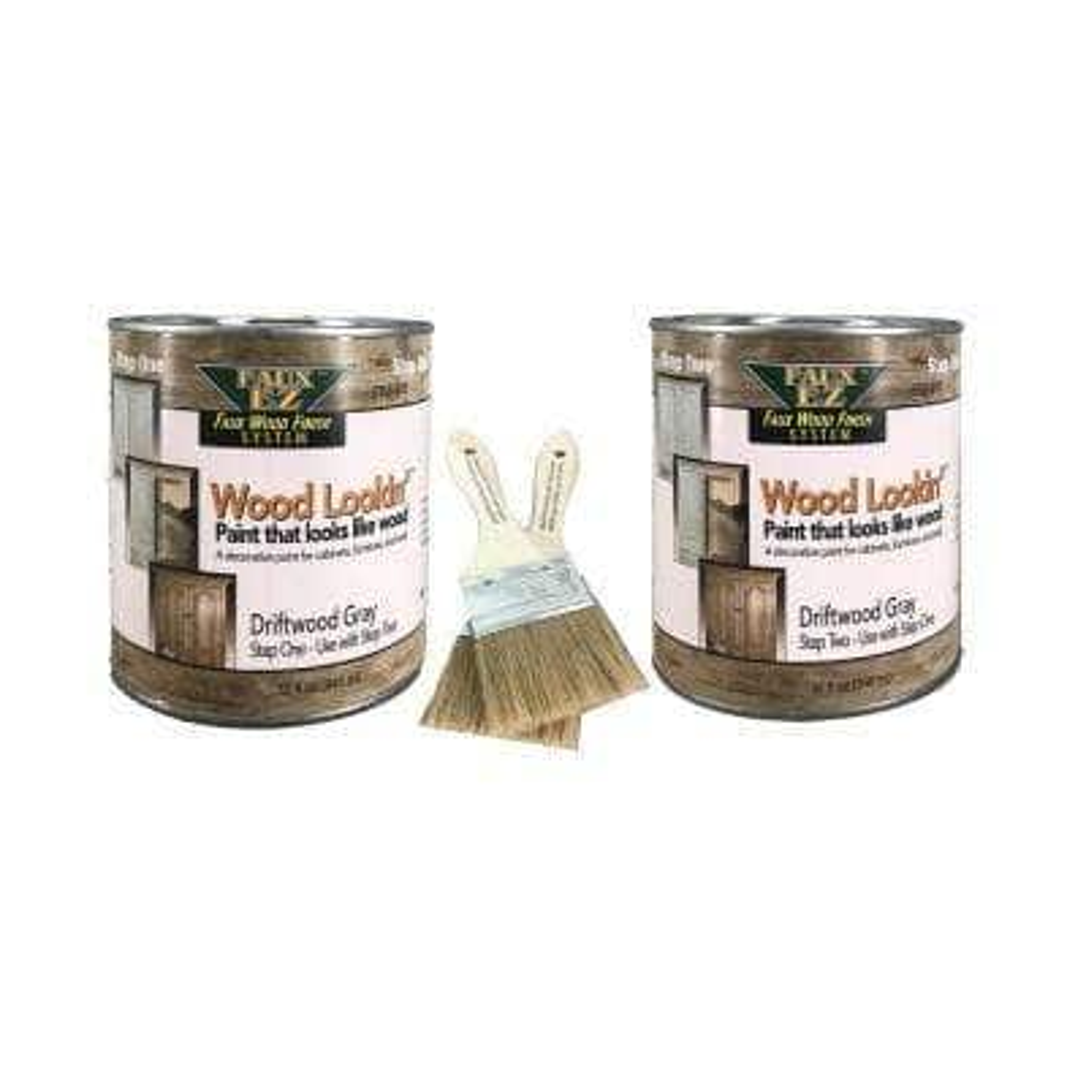 2-Quart Driftwood Gray Medium Specialty Paint Kit