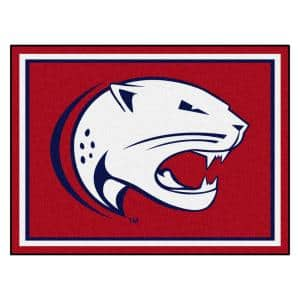 NCAA - University of South Alabama Red 10 ft. x 8 ft. Indoor Rectangle Area Rug