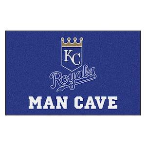 MLB - Kansas City Royals Man Cave UltiMat 5 ft. x 8 ft. Indoor Area Rug