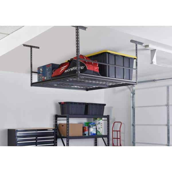 Muscle Rack Silvervein Adjustable, Overhead Garage Storage Racks