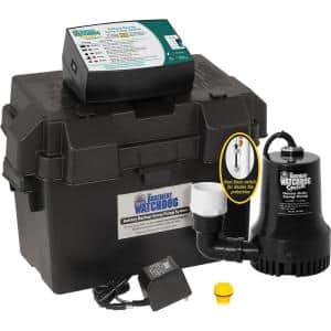 0.33 HP Special + Battery Backup Sump Pump System