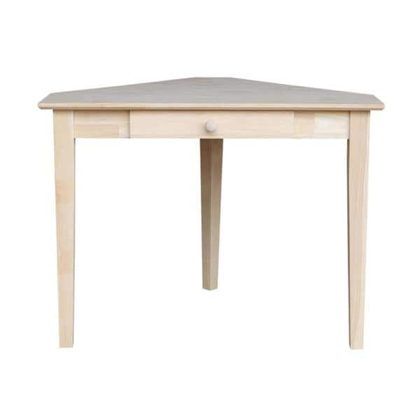 1 Drawer Writing Desk With, 1 Unfinished Furniture