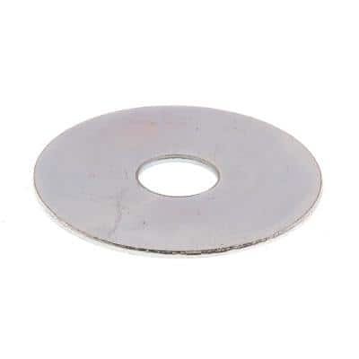 3/8 in. x 1-1/2 in. O.D. Zinc Plated Steel Fender Washers (25-Pack)