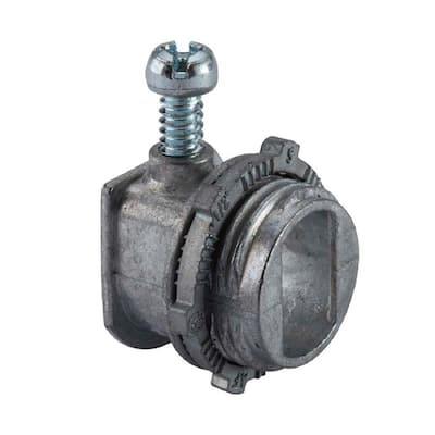 3/8 in. Flexible Metal Conduit (FMC) AC Conduit Connector (100-Pack)