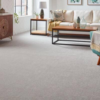 Silver Mane II - Color Dover Cliffs Texture Gray Carpet