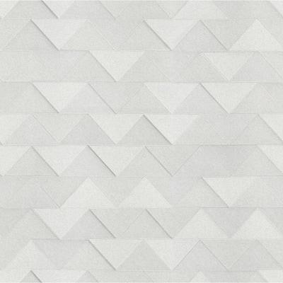 Matrix Silver Triangle Silver Wallpaper Sample