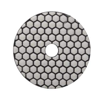 4 in. 3000 Grit Resin Dry Polishing Pad