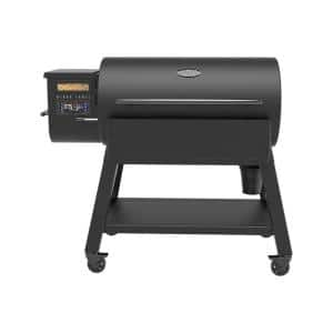 1200 Black Label Pellet Grill with WiFi Control in Black