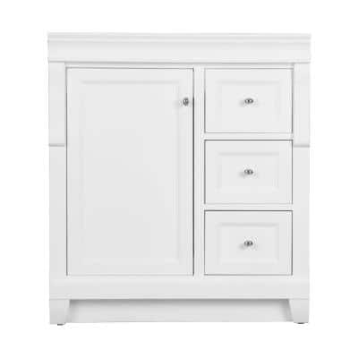 Naples 30 in. W x 21.75 in. D Bath Vanity Cabinet in White