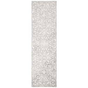 Trace Charcoal/Ivory 2 ft. x 8 ft. Runner Rug