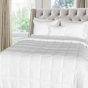 Extra Warmth White King Down Alternative Comforter