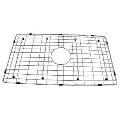FS30D 26-3/4 in. x 14-3/4 in. Wire Grid for Single Bowl Kitchen Sinks in Stainless Steel