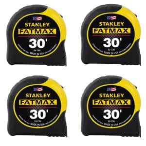 FATMAX 30 ft. x 1-1/4 in. Tape Measure (4-Pack)