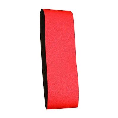 3 in. x 21 in. 50-Grit Sanding Belt (5-Pack)