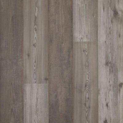 Take Home Sample - Grey Optimus Pine Laminate Flooring - 5 in. x 7 in.