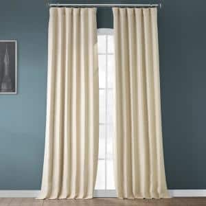 Candlelight Rod Pocket Blackout Curtain - 50 in. W x 84 in. L