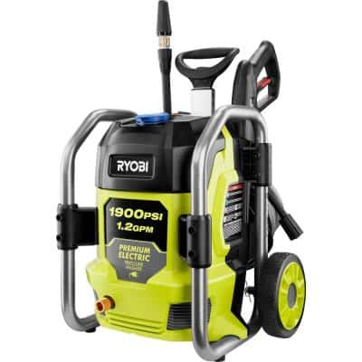 1900 PSI 1.2 GPM Cold Water Electric Pressure Washer