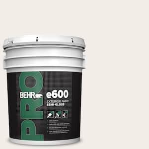Glidden Essentials 5 Gal White Base 1 Semi Gloss Exterior Paint Gle 7011n 05 The Home Depot
