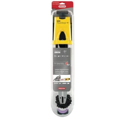 14 in. PowerSharp Chain and Bar Starter Kit, PS50 Chain, 0.050-Gauge 3/8 in. Low Profile Chain