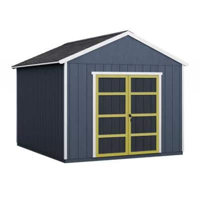 Do-it Yourself Rookwood 10 ft. x 16 ft. Wooden Storage Shed for Existing Cement Pad