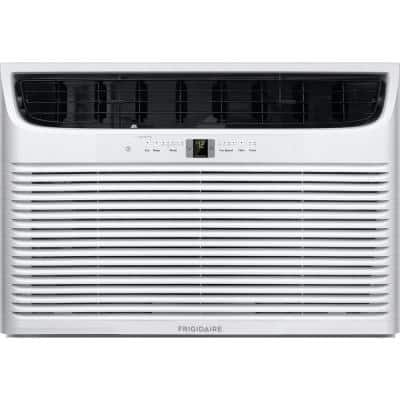 25,000 BTU Window Air Conditioner with Supplemental Heat and Slide Out Chassis in White