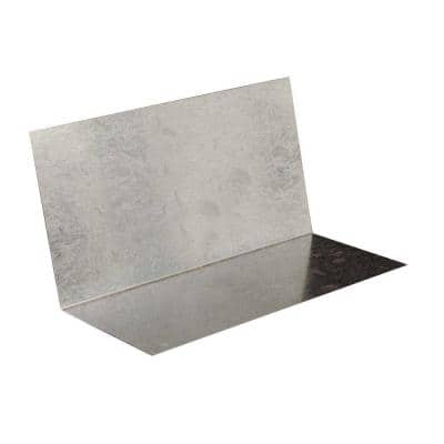 3 in. x 7 in. Galvanized Steel Step Flashing