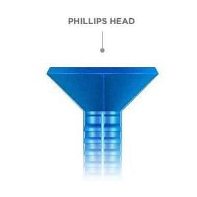 1/4 in. x 2-3/4 in. Phillips-Flat-Head Concrete Anchors (75-Pack)