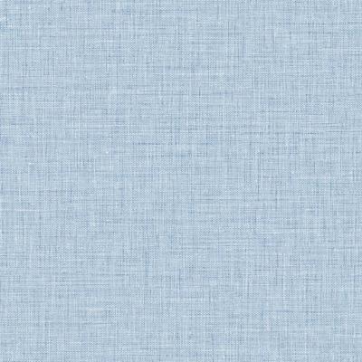 Easy Linen Seaside Sky Blue Vinyl Strippable Roll (Covers 60.75 sq. ft.)