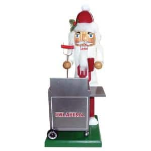 12 in. Oklahoma Tailgating Nutcracker
