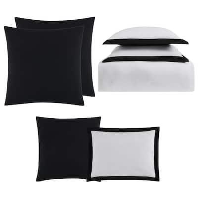 Everyday Hotel Border Comforter Set