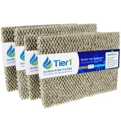 Replacement for Aprilaire Water Panel 35, fits Models 350, 360, 560, 560A, 568, 600 Humidifier Filter (4-Pack)