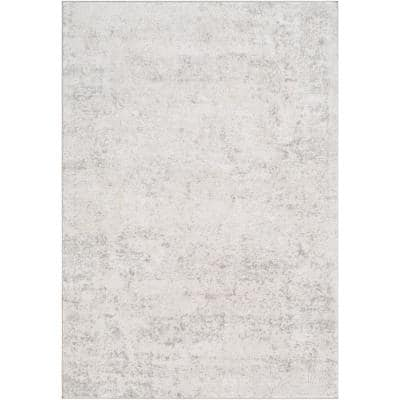 Marquis Grey 7 ft. 10 in. x 10 ft. 3 in. Distressed Area Rug