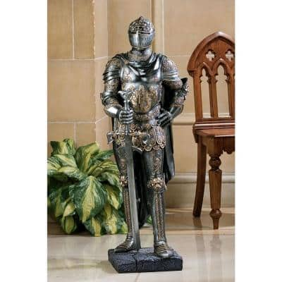 39.5 in. H The King's Guard Sculptural Half Scale Knight Replica