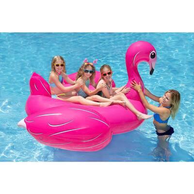 Jumbo Flamingo Swimming Pool Float