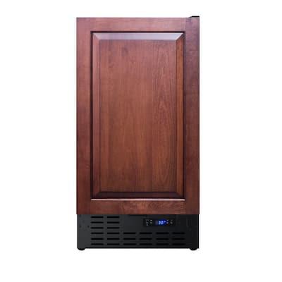 18 in. 3 cu. ft. Mini Fridge with Panel-Ready Door