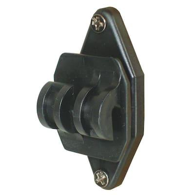 Black Wood Post Nail on Insulator for Hi-Tensile (100-Pack)
