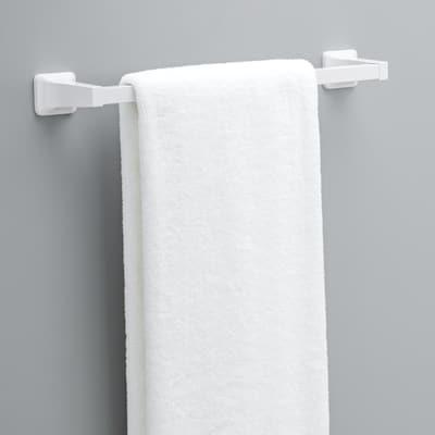 Futura 18 in. Towel Bar in White