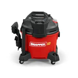 XD 82-Volt Max 9 Gal. Cordless Electric Wet/Dry Vacuum with Hose, Crevice Tool, Floor Brush Battery and Charger Included