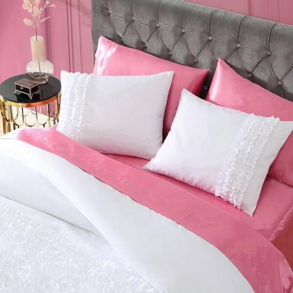 Betsey Johnson Romantic Ruffles 3 Piece, Betsey Johnson Bedding Set